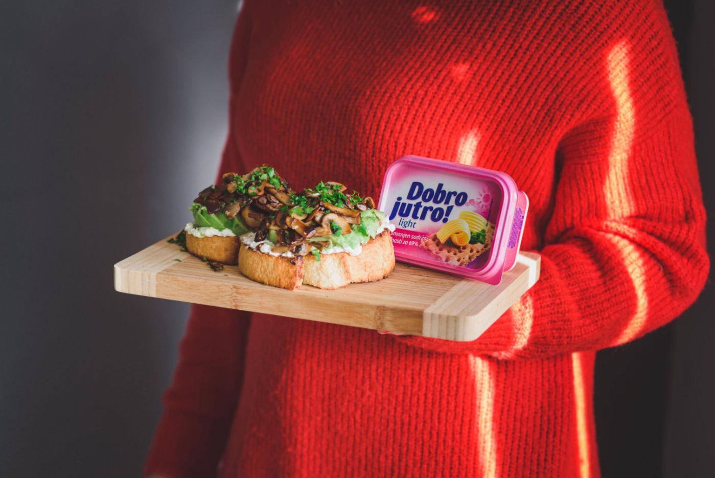 Pečurke na tostu