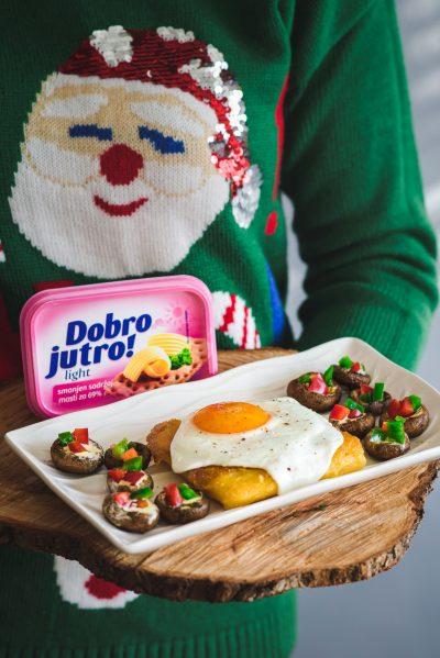 Grilovane božićne pečurke