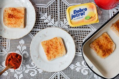 Hleba, margarina i aleve